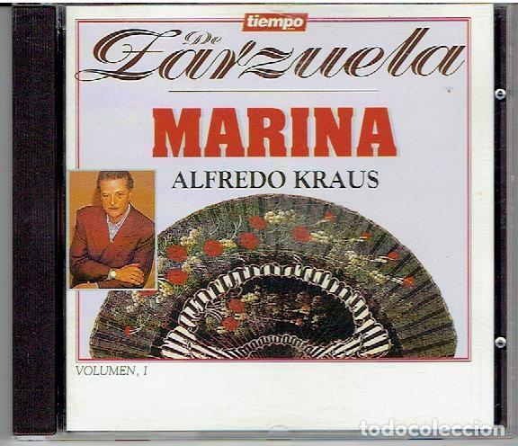 CD`S TIEMPO DE ZARZUELA, MARINA (Música - CD's Otros Estilos)