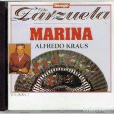 CDs de Música: CD`S TIEMPO DE ZARZUELA, MARINA . Lote 139504878