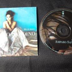 CDs de Música: AMPARO SANDINO CD SINGLE PROMO MAR DE AMORES LATIN POP. Lote 139509688