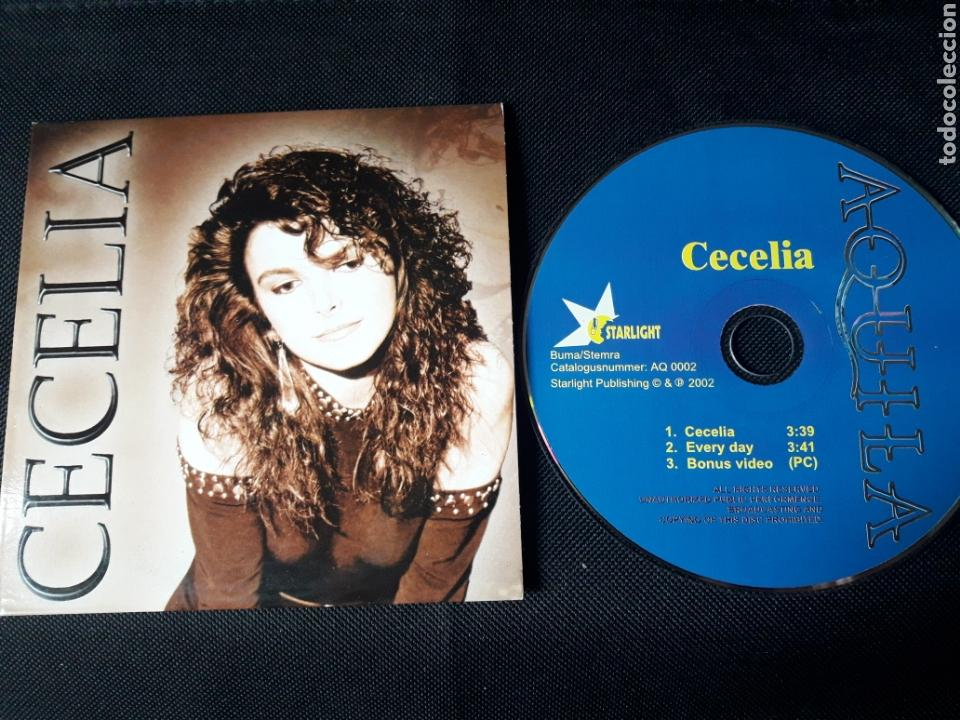 AQUILA - CD SINGLE CECELIA (HARD ROCK, AOR) (Música - CD's Heavy Metal)