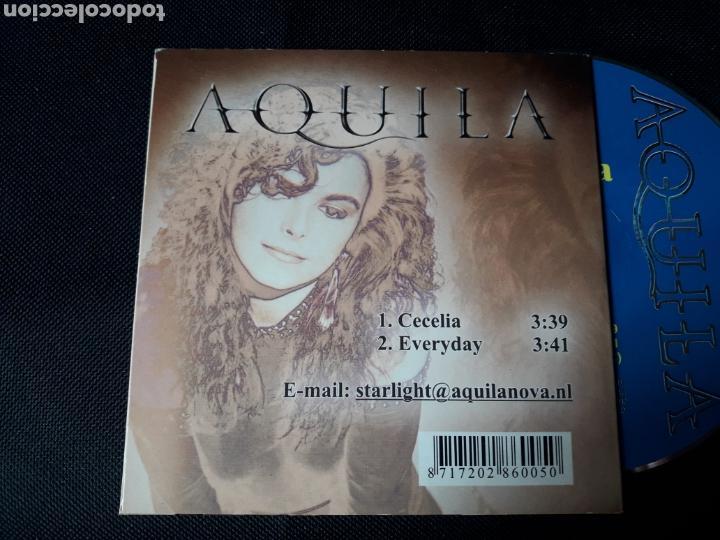 CDs de Música: Aquila - CD single Cecelia (hard rock, AOR) - Foto 2 - 139510286