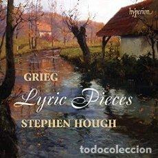 CDs de Música: EDVARD GRIEG - LYRIC PIECES (CD) STEPHEN HOUGH. Lote 139527930