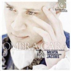 CD de Música: HANDEL - OMBRA CARA, ARIAS (CD+DVD) BEJUN MEHTA, FREIBURGER BAROCKORCHESTER, RENÉ JACOBS. Lote 139558574