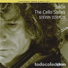 CDs de Música: J.S BACH - THE CELLO SUITES (2CD) STEVEN ISSERLIS. Lote 146977713
