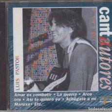 CDs de Música: LUIS PASTOR CD LA TORRE DE BABEL 1996 EDIONES DEL PRADO. Lote 139566682