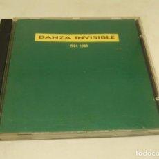 CDs de Música: DANZA INVISIBLE 1984-1989. Lote 139580686