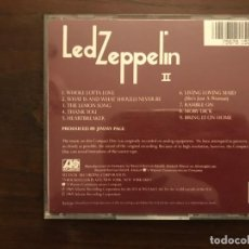 CDs de Música: LED ZEPPELIN ?– LED ZEPPELIN II SELLO: ATLANTIC ?– 7567-81526-2, ATLANTIC ?– 19127-2 FORMATO: CD . Lote 139581810