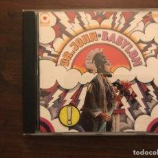 CDs de Música: DR. JOHN ?– BABYLON SELLO: ATCO RECORDS ?– 7567-80438-2 FORMATO: CD, ALBUM, REISSUE PAÍS: EUROPE . Lote 139581970
