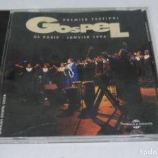 CDs de Música: PREMIER FESTIVAL GOSPEL DE PARIS - JANVIER 1994. Lote 139582306