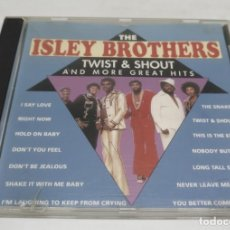 CDs de Música: THE ISLEY BROTHERS TWIST & SHOUT. Lote 139584398