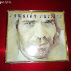 CDs de Música: CD-DOBLE-CAMARÓN NUESTRO-PERFECTO-VER FOTOS. Lote 139587546