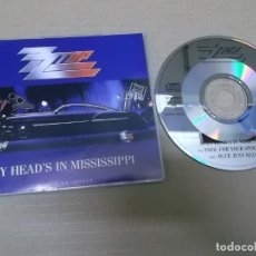 CDs de Música: ZZ TOP (CD-SN) MY HEAD'S IN MISSISSIPPI +2 TRACKS AÑO 1991. Lote 139592810