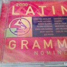 CDs de Música: LATIN GRAMMY NOMINEES 2000- CD -CON 14 TEMAS- ORIGINAL DEL 2000. Lote 139614262
