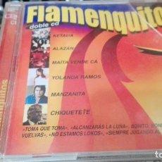 CDs de Música: FLAMENQUITOS - DOBLE CD. Lote 139615246