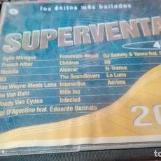 CDs de Música: SUPERVENTAS 2002 - LOS EXITOS MAS BAILADOS - 2 X CD . Lote 139615366