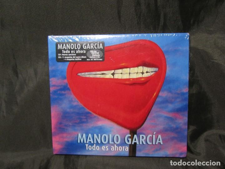 EDICIÓN ESPECIAL TODO ES AHORA MANOLO GARCÍA SONY MUSIC 2014 PRECINTADO (Música - CD's Pop)