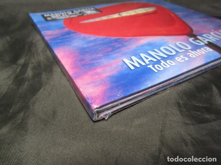 CDs de Música: EDICIÓN ESPECIAL TODO ES AHORA MANOLO GARCÍA SONY MUSIC 2014 PRECINTADO - Foto 3 - 139631238
