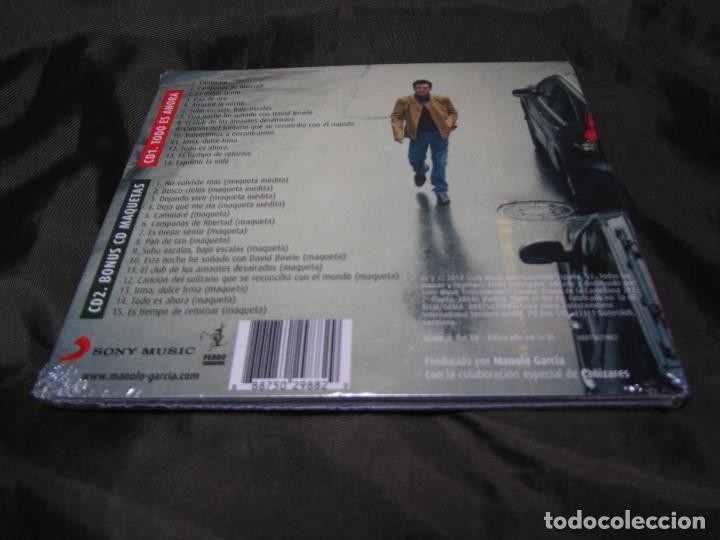 CDs de Música: EDICIÓN ESPECIAL TODO ES AHORA MANOLO GARCÍA SONY MUSIC 2014 PRECINTADO - Foto 7 - 139631238