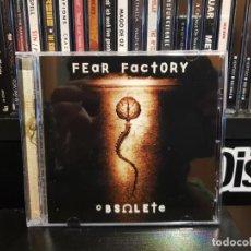 CDs de Música: FEAR FACTORY - OBSOLETE. Lote 139638642