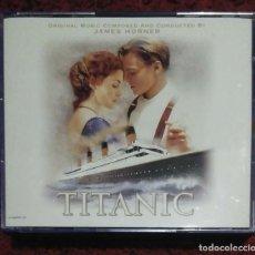 CDs de Música: B.S.O. TITANIC + BAACK TO TITANIC - 2 CD'S 1998 LIMITED EDITION. Lote 139639114