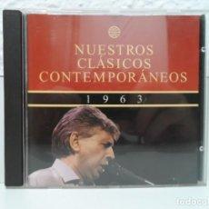 CDs de Música: * NUESTROS CLÁSICOS CONTEMPORÁNEOS 1963 - LA NOVA CANÇÓ - ÁLBUM CD 1996 - LEER DESCRIPCIÓN. Lote 139656998