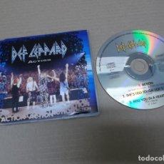 CDs de Música: DEF LEPPARD (CD-SN) ACTION +2 TRACKS AÑO 1994. Lote 139667874
