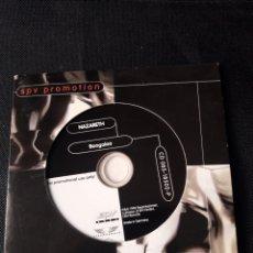 CDs de Música: NAZARETH - CD ALBUM PROMOCIONAL BOOGALOO (HARD ROCK 1998). Lote 139694014