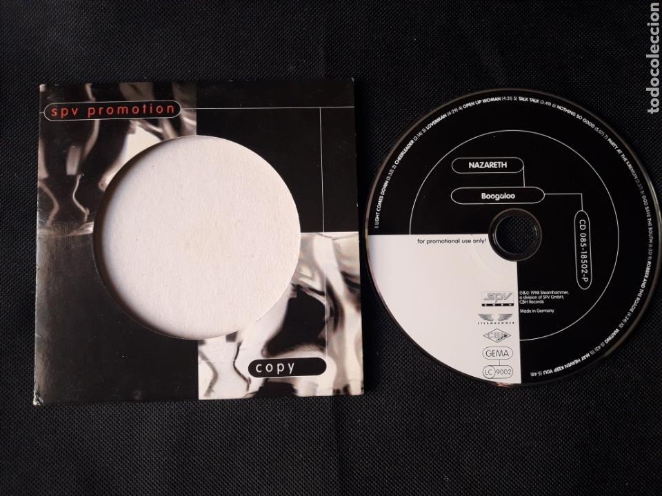 CDs de Música: Nazareth - CD album promocional Boogaloo (Hard Rock 1998) - Foto 2 - 139694014