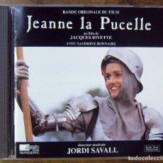 CDs de Música: BSO - JEANNE LA PUCELLE - VV.AA, JORDI SAVALL - 1994 - JUANA DE ARCO. Lote 210934561