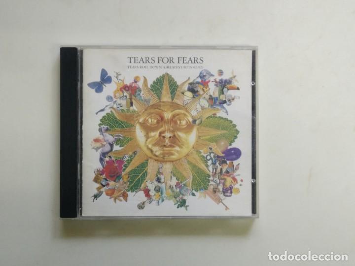 CD TEARS FOR FEARS - TEARS ROLL DOWN GREATEST HITS 82-92 (Música - CD's World Music)