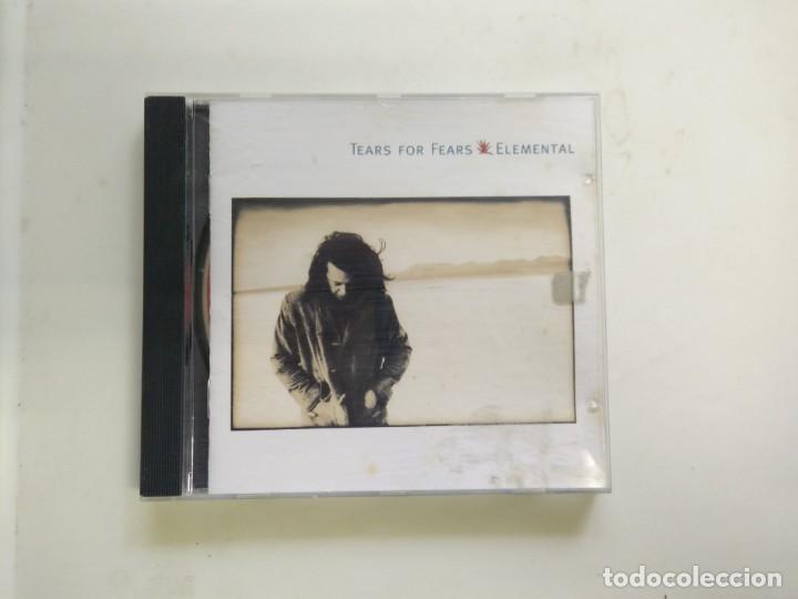 CD TEARS FOR FEARS ELEMENTAL (Música - CD's World Music)