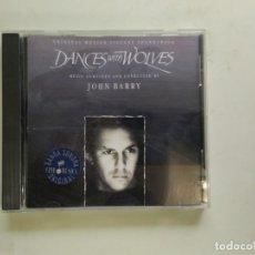 CDs de Música: CD DANCES WITH WOLVES JOHN BARRY. Lote 139753278