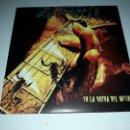 CDs de Música: ZARPA EN LA RUEDA DEL METAL SINGLE (VINYL) SPANISH HEAVY METAL-OBUS-BARON ROJO. Lote 139790186