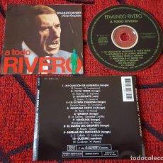 CDs de Música: EDMUNDO RIVERO A TODO RIVERO CD ORIGINAL 1994 TANGO ARGENTINA. Lote 139883878