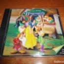 CDs de Música: BLANCANIEVES Y LOS SIETE ENANITOS BANDA SONORA EN ESPAÑOL WALT DISNEY CD 1994 ESPAÑA 26 TEMAS. Lote 139892858