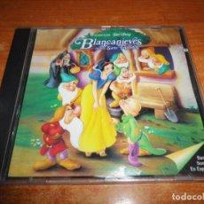 CDs de Música: BLANCANIEVES Y LOS SIETE ENANITOS BANDA SONORA EN ESPAÑOL WALT DISNEY CD 1994 ESPAÑA 26 TEMAS. Lote 171149490