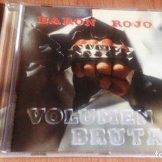 CDs de Música: BARON ROJO: VOLUMEN BRUTAL *IMPECABLE COMO NUEVO*. Lote 139968954