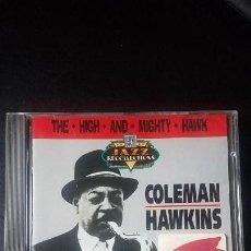 CDs de Música: COLEMAN HAWKINS. THE HIGH AND MIGHTY HAWK. Lote 139972534