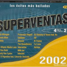 CDs de Música: SUPERVENTAS 2002. 4 CD'S. Lote 140020430