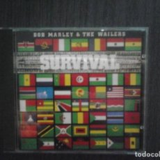 CDs de Música: CD BOB MARLEY & THE WAILERS SURVIVAL. Lote 140024002