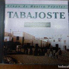 CDs de Música: TABAJOSTE, GRUPO DE MÚSICA POPULAR . PUERTO CABRAS. CD. CENTRO DE LA CULTURA CANARIA, FUERTEVENTURA. Lote 140035342