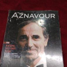 CDs de Música: CHARLES AZNAVOUR ~ CD + LIBRO ~ JE N'AI PAS VU LE TEMPS PASSER , EN FRANCES ( NUEVO ). Lote 140037225