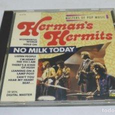 CDs de Música: HERMAN'S HERMITS / NO MILK TODAY. Lote 140041474