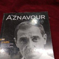 CDs de Música: CHARLES AZNAVOUR ~ CD + LIBRO ~ LA MAMMA , EN FRANCES ( NUEVO ). Lote 140043990