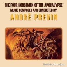 CDs de Música: THE 4 HORSEMEN OF THE APOCALYPSE / ANDRÉ PREVIN CD BSO. Lote 140053890