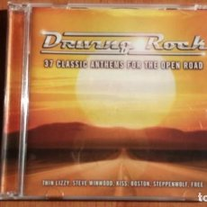 CDs de Música: DRIVING ROCK - 37 CLASSIC ANTHEMS FOR THE OPEN ROAD - 2 CDS *IMPECABLE COMO NUEVO*. Lote 140084142