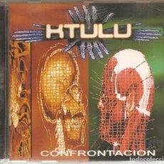 CDs de Música: KTULU. CONFRONTACION. Lote 140084254