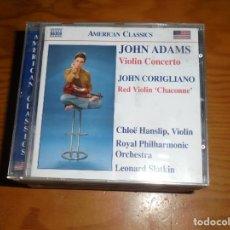 CDs de Música: AMERICAN CLASSICS : JOHN ADAMS / JOHN CORIGLIANO. NAXOS, 2006. CD. IMPECABLE (#). Lote 140085290