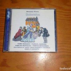 CDs de Música: BOHEMIOS. AMADEO VIVES. ATAULFO ARGENTA. RCA BMG, 1996. CD. IMPECABLE (#). Lote 140086074