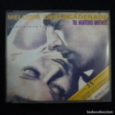 CDs de Música: THE RIGHTEBOUS BROTHERS - MELODÍA DESENCADENADA - 2 CDS. Lote 140144038